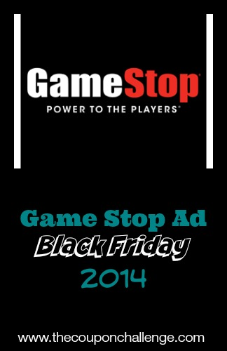 2014 Game Stop Black Friday Ad