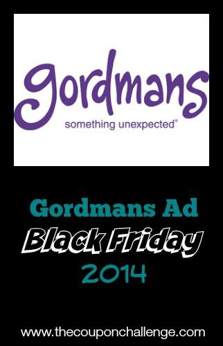 2014 Gordmans Black Friday Ad