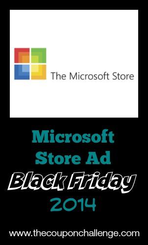 2014 Microsoft Store Black Friday Ad