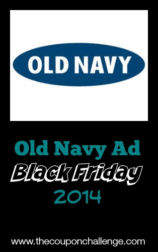 2014 Old Navy Black Friday Ad
