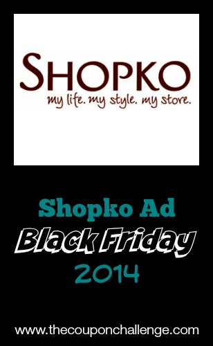 2014 Shopko Black Friday Ad