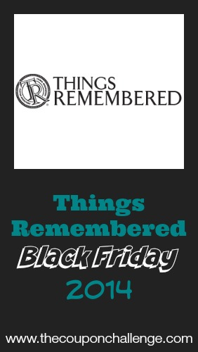 2014 Things Remembered Black Friday Ad