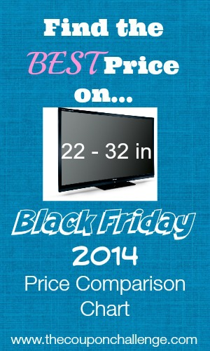 22-32 tv Black Friday Price Comparison