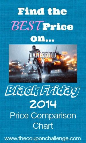 Battlefield 4 Black Friday Price Comparison