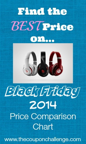 Beats by Dre Black Friday Price Comparison