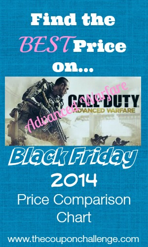Best Price Advanced Warfare Black Friday