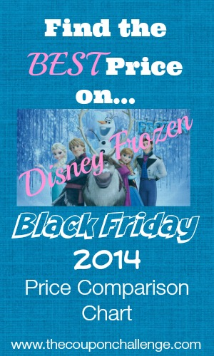 Disney Frozen Black Friday Best Price