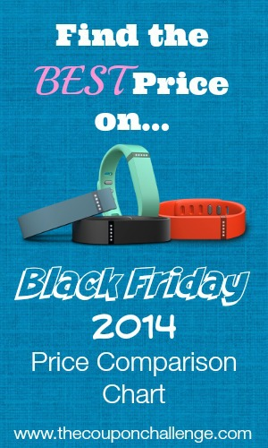 Fitbit Black Friday Price Comparison