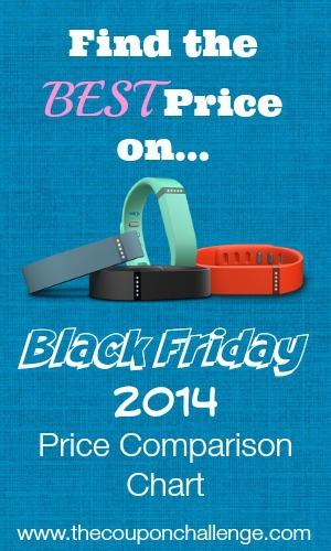 Fitbit Black Friday Price Comparison