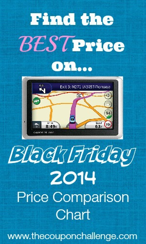 GPS Black Friday Price Comparison