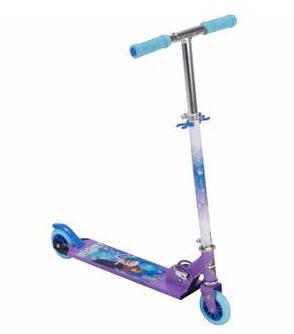 Huffy Disney Frozen Girls' Inline Folding Kick Scooter