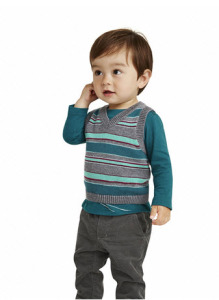 Jugend Stripe Sweater Vest