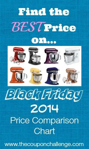 Kitchenaid Black Friday Price Comparison
