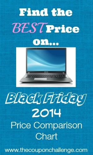 Laptop Black Friday Price Comparison