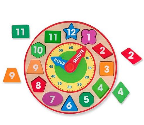 Melissa & Doug Shape Sorting Clock only $7.06 at Kohl's ...