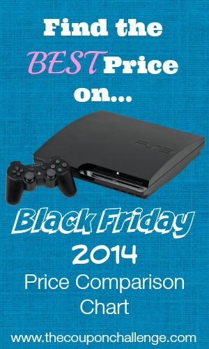 Playstation 4 Black Friday Price Comparison