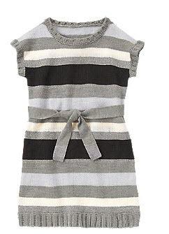 Sparkle Stripe Sweater Dress