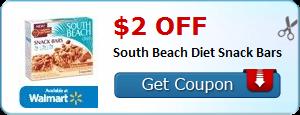 South Beach Diet Bar