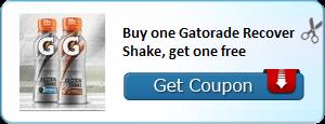 Gatorade coupon