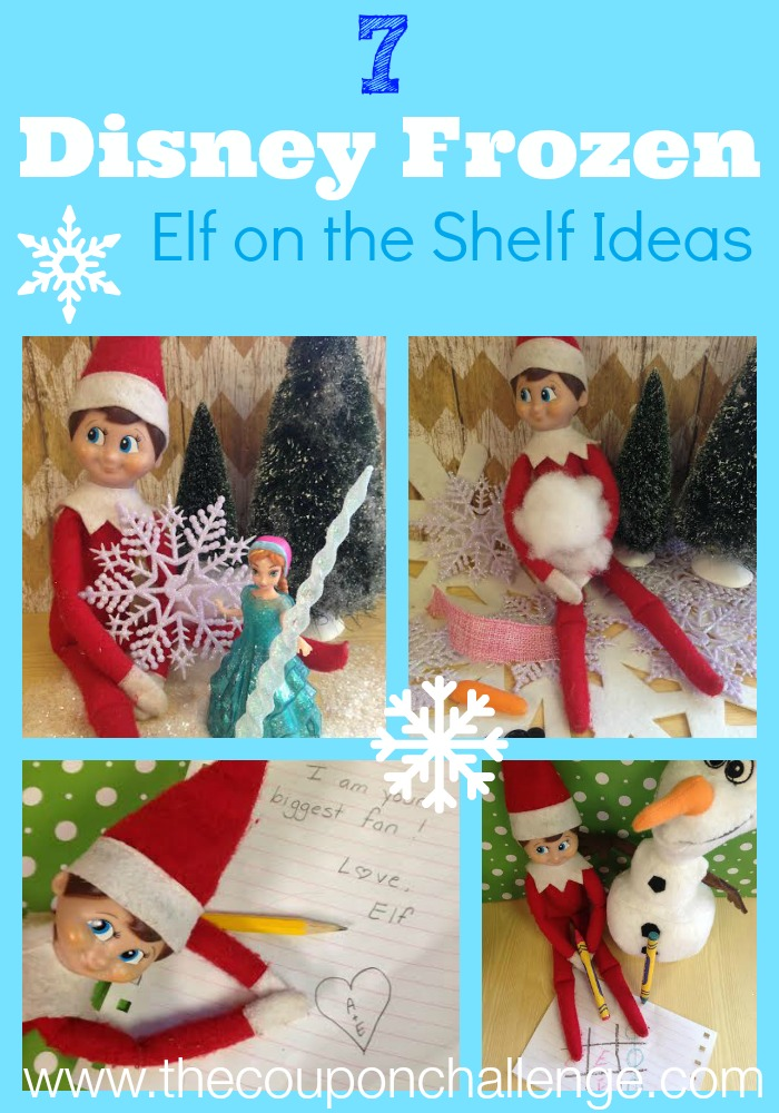 Frozen Elf of the Shelf Ideas