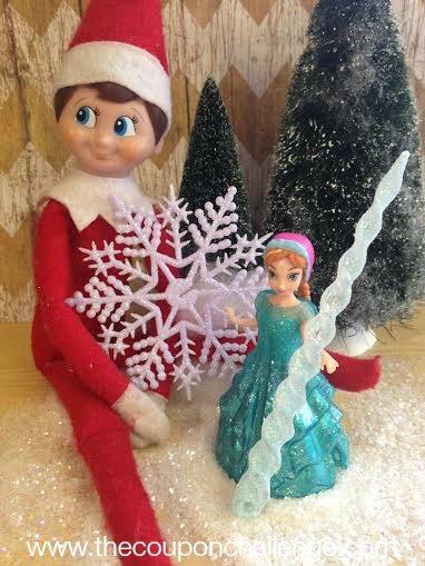 Frozen Elf on the Shelf 4