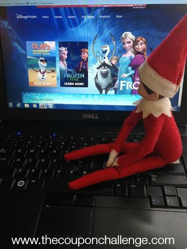 Frozen Elf on the Shelf 6