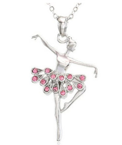 Light Pink Dancing Ballerina Dancer