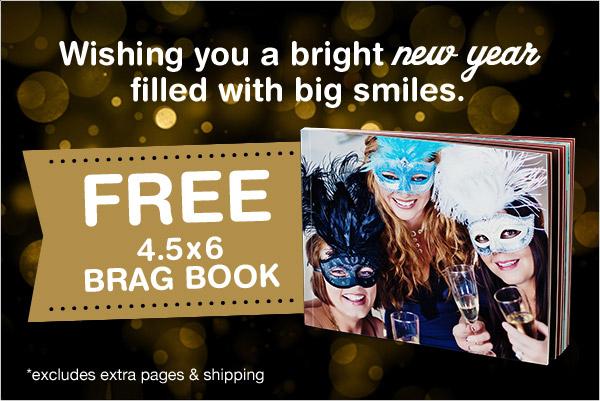 Walgreens free brag book