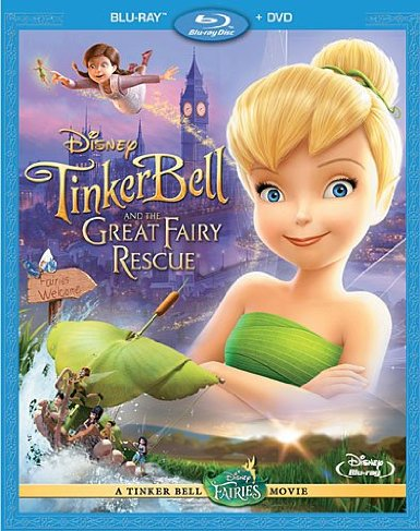 Tinker Bell and the Great Fairy Rescue DVD sale