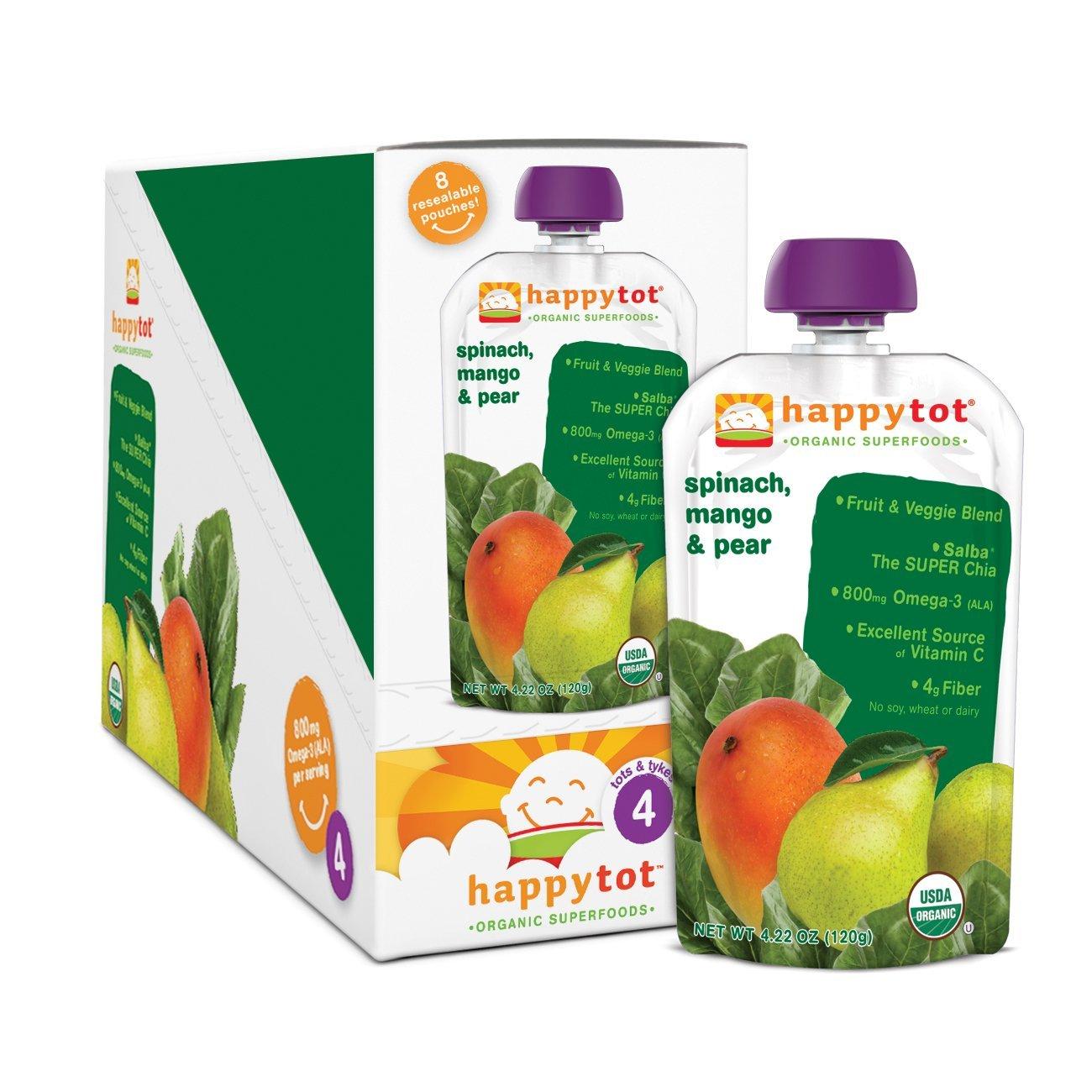 Happy Tot Organic Baby Food Coupons