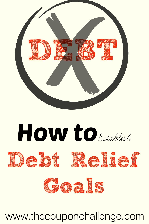 Establishing Debt Relief Goals