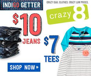 crazy 8 jeans sale