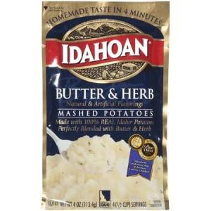 Idahoan Potato Pouches