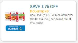 McCormick Skillet Sauce