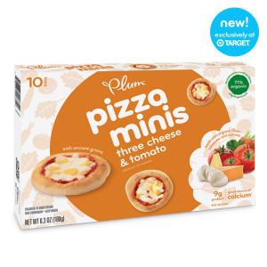 Plum Pizza Minis
