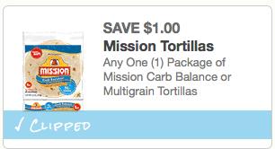 Mission Tortillas Coupon
