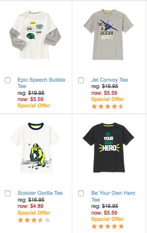 gymboree boy clothes sale
