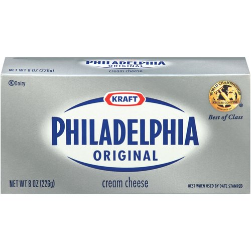 how many ounces of cream cheese in a cup