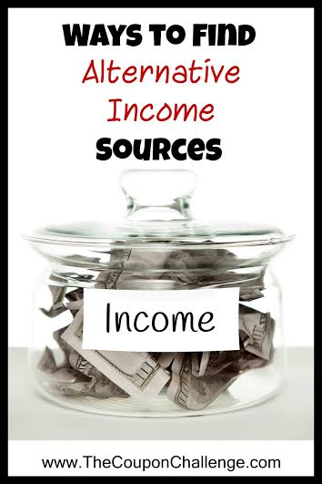 Finding Alternative Sources of Income