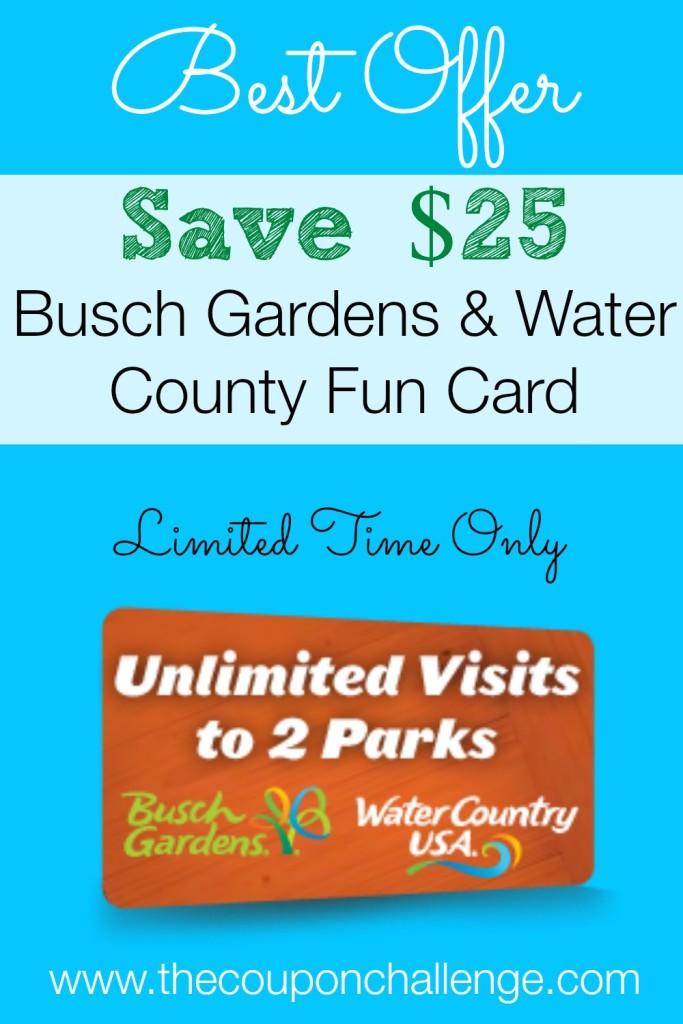 Busch Gardens Fun Card Discount