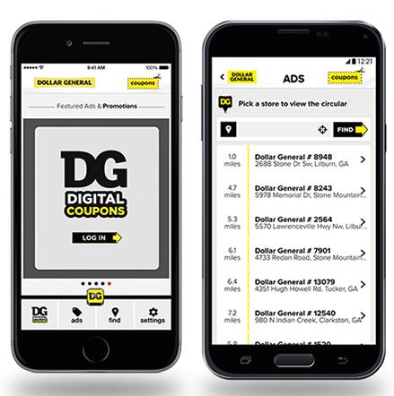Dollar General App