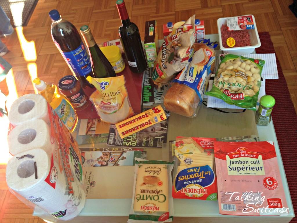 Grocery shopping 59 euro