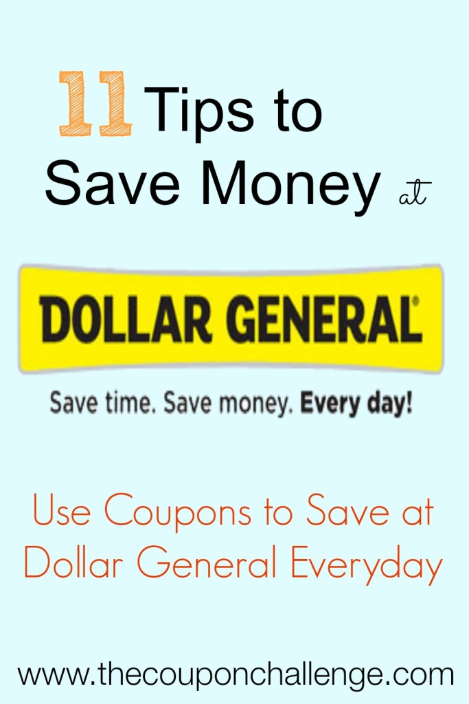 How to Save Money at Dollar General