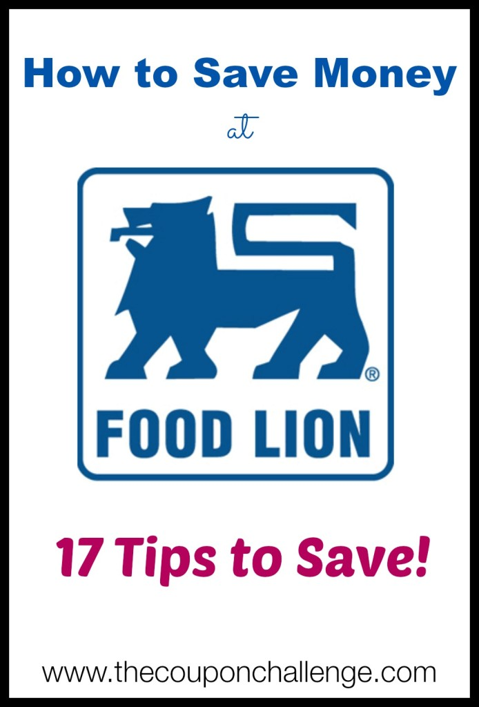 How to Save Money at Food Lion 1