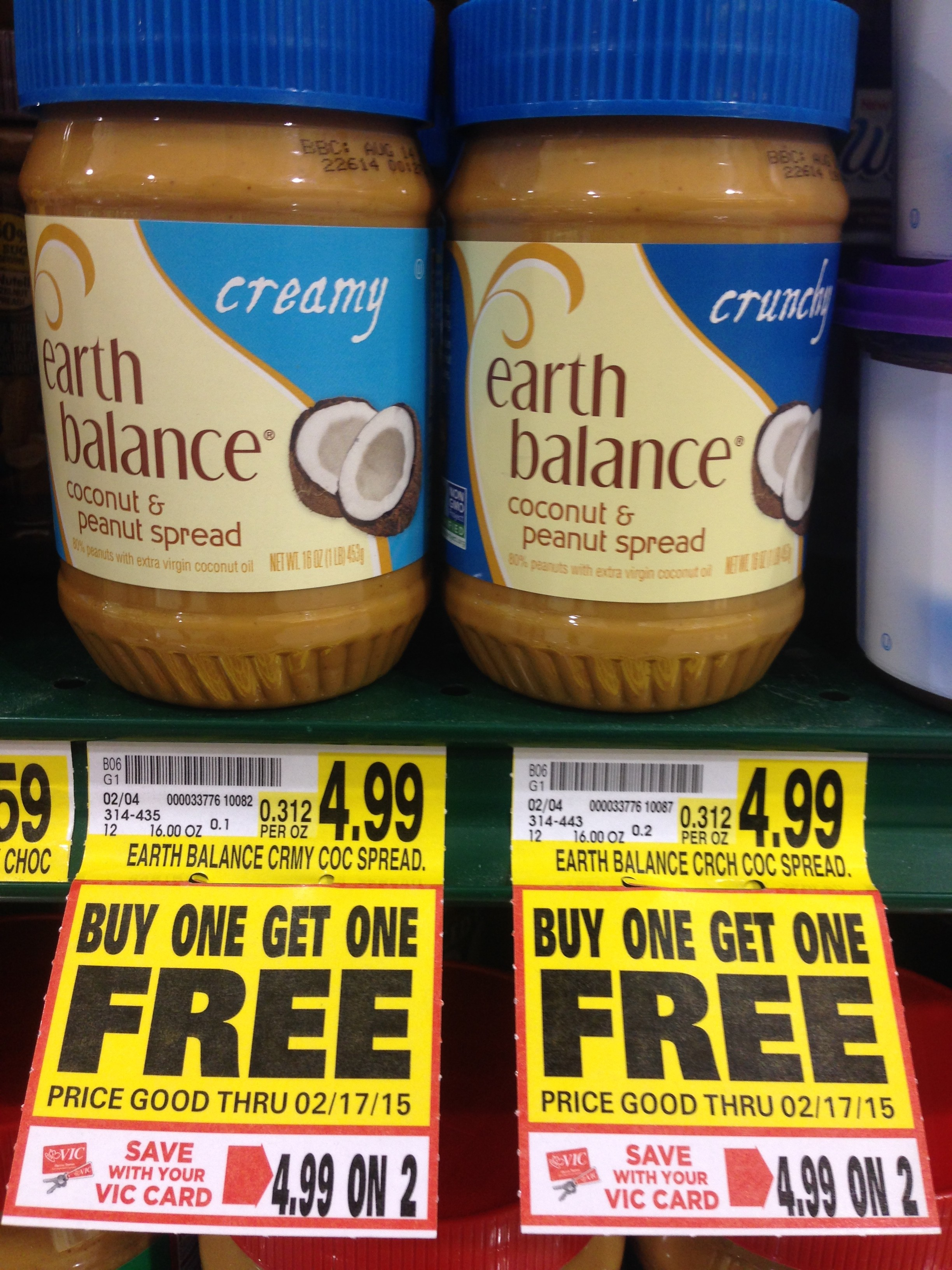 Earth balance coupon 2018