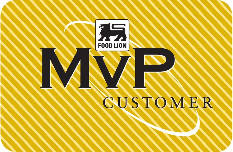 Food Lion MVP card