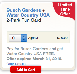 Busch Gardens Williamsburg Fun Card Discount I Busch Gardens Williamsburg Coupons