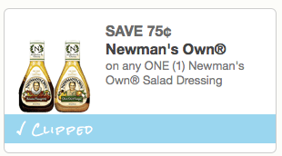 newmans own salad coupon
