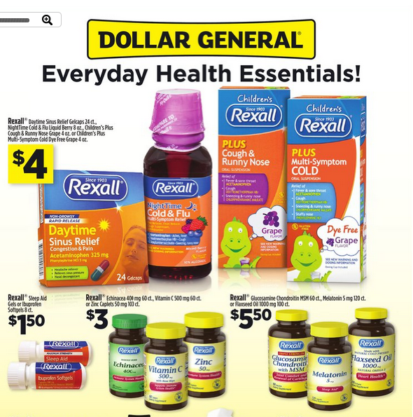 Dollar General Ad