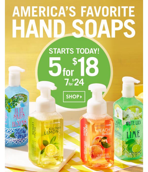 BBW hand soap sale
